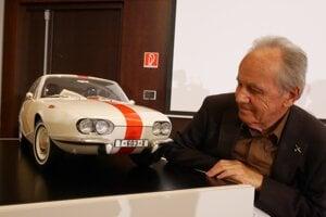 Automobilový konštruktér Ján Cina je autorom tvarových riešení Tatry 603X Coupé.