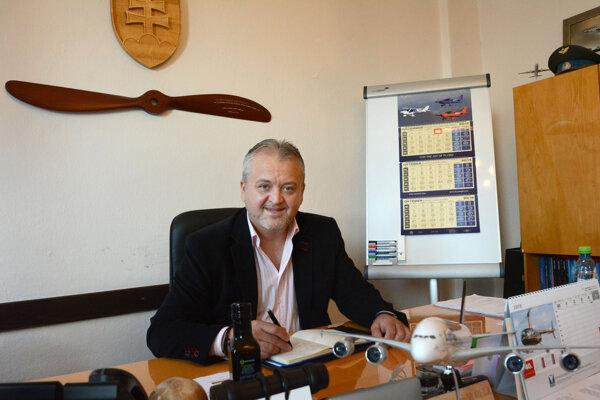 Dekan leteckej fakulty Stanislav Szabo.