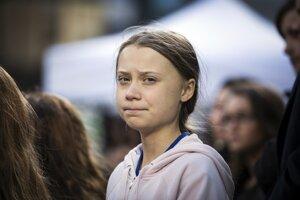 Švédska environmentálna aktivistka Greta Thunbergová.