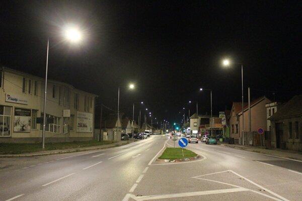 Myslenická ulica v Pezinku
