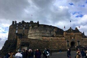 Edinburghský hrad.