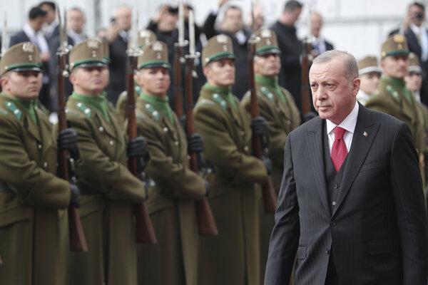 Turecký prezident Recep Tayyip Erdogan navštívil vo štvrtok Budapešť.
