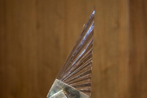 V tomto roku prichádzajú organizátori so zmenou vizuálu sošky ceny Krištáľové krídlo.