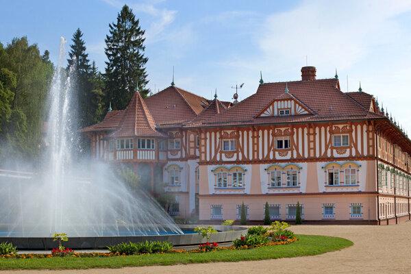 Luhačovice Jurkovičov kúpeľný dom
