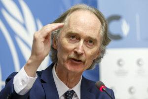 Osobitný vyslanec OSN pre Sýriu Geir Pedersen.