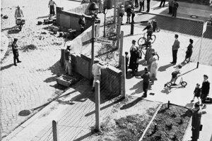 Archívna fotografia z augusta 1961.