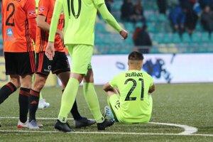 Bernátov gól v závere zápasu s Ružomberkom na body nestačil.
