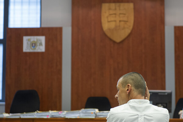 Peter Tóth vypovedal na Špecializovanom trestnom súde proti Marianovi Kočnerovi.