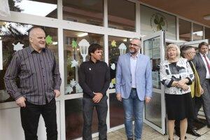 Igor Liba, Michal Martikán, René Pucher a Ľubica Kohániová.