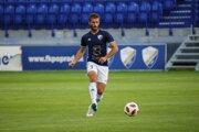 Vladislav Palša ešte v drese Popradu. Dnes je hrajúcim trénerom Kurimy, pričom trénersky vypomáha aj Gerlachovu.