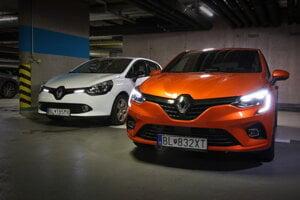 Renault Clio IV. vs. Renault Clio V.