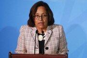Prezidentka Marshallových ostrovov Hilda Heineová si hodlá uchovať svoje kreslo v 33-člennom parlamente.