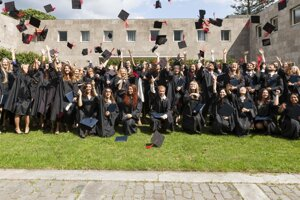 Promócie študentov Tilburg University.