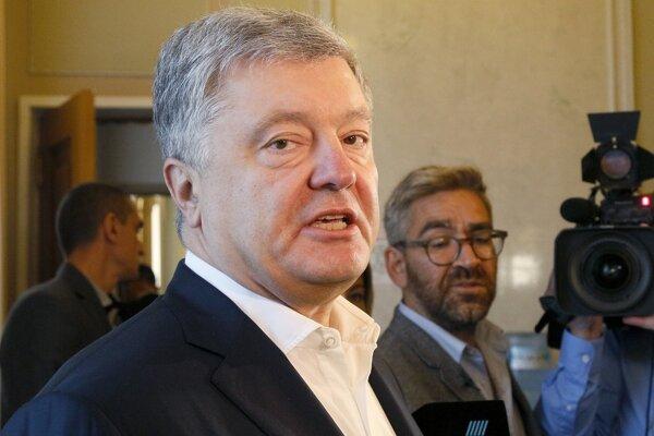 Ukrajinský exprezident Petro Porošenko.