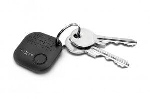 Prívesok na kľúče, tašku a hocičo Fixed Smile, ktorý môžete prezvoniť, ak vec stratíte.