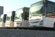 Nové autobusy SAD Prešov.