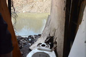 Takúto toaletu má jeden z príbytkov.