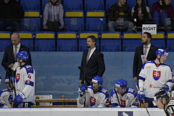 Slovenskí hokejisti pred MS v hokeji do 20 rokov 2020.