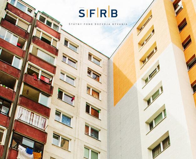 Obnovený bytový dom z prostriedkov ŠFRB za 0% úrok.