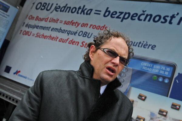 Prezident ČESMAD Pavol Jančovič.