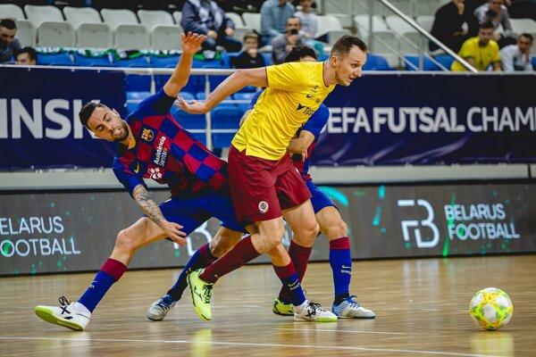 Tomášovi Drahovskému to proti Barcelone ide. Konto mýtickej značky zaťažil ďalším gólom.