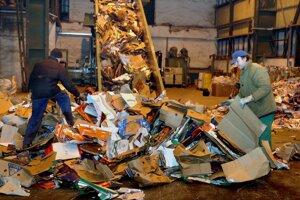 Zberné suroviny menia podmienky, za akých budú vykupovať papier.