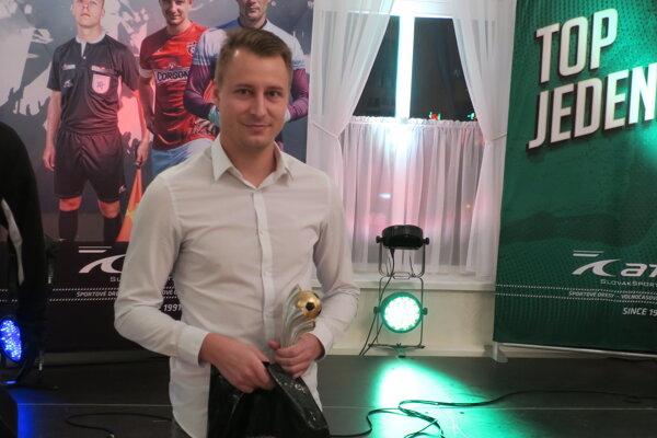 Najlepší hráč III. ligy Filip Serečin.