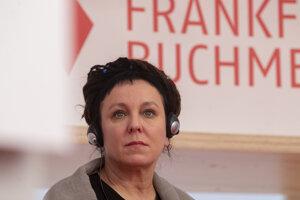 Laureátka Nobelovej ceny za literatúru Olga Tokarczuková.