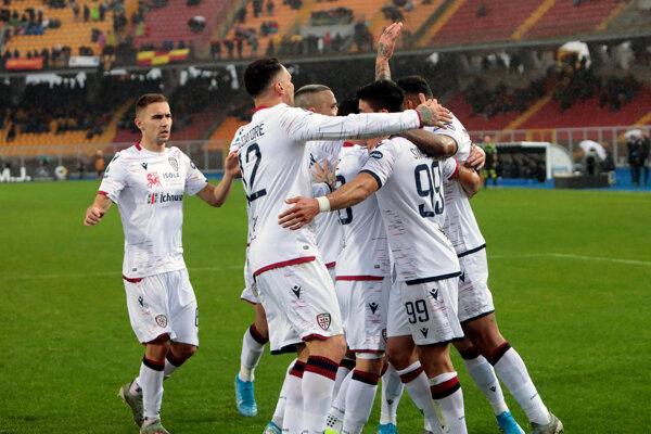 Hráči Cagliari