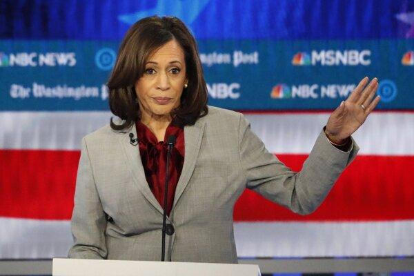 Americká senátorka zo štátu Kalifornia Kamala Harrisová.