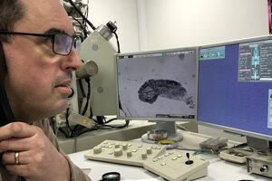 Profesor Andym Beard, s ktorým Jerguš Bača spolupracoval.