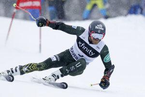Tommy Ford počas 2. kola obrovského slalomu v Beaver Creeku.