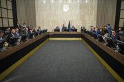 Na snímke rokovanie 189. schôdze vlády SR v stredu 11. decembra 2019 v Bratislave.