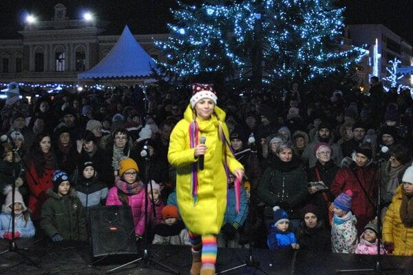 V Nitre vystúpila aj obľúbená speváčka veselých piesní pre deti Dúhalka.