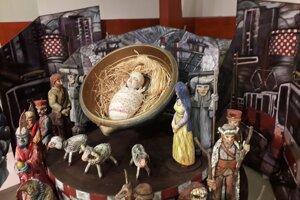 104021 - Bábky z inscenácie Košický Betlehem a Ježiško u nás, r. 2007, réžia Á, Badin, scénografia - S. Boráros.