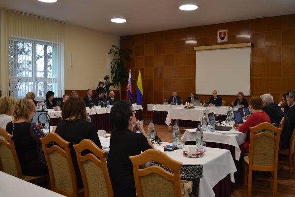Posledné tohtoročné zasadnutie mestského zastupiteľstva v Kežmarku.