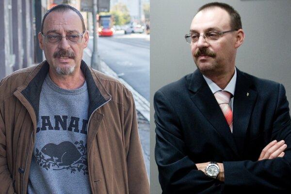 Dobroslav Trnka v roku 2018 (vľavo) a v roku 2009