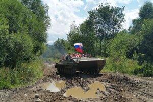 Jazda Tankom pri Podbieli