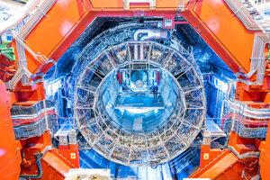 """Detektor Alice, v ktorom """"imitujú"""" počiatky vesmíru."""