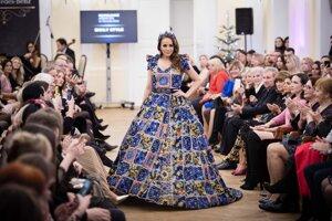 Kolekcia - Sicily Style počas módnej prehliadky Bratislavských módnych dní.