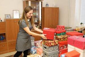 Riaditeľka domova Miroslava Bernátová sa teší, že urobia radosť svojim klientom.