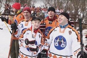 Hokejovej partii z Trsteného pri Hornáde nechýba vášeň a odhodlanie.