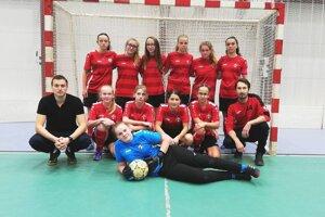 Futbalistky MŠK Púchvo U 15.