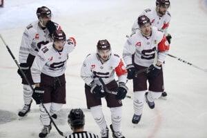 Hokejisti HC Sparta Praha - ilustračná fotografia.