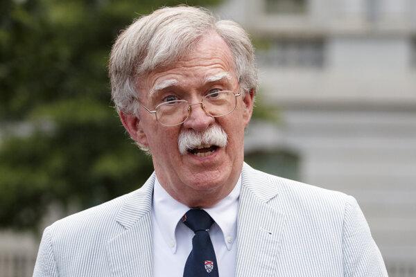 Bývalý poradca amerického prezidenta Donalda Trumpa John Bolton.