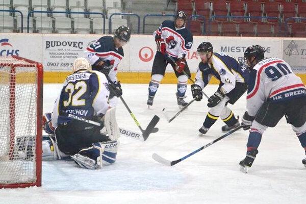 Hokejisti Brezna tesne podľahli Púchovu
