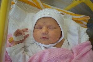 Ema Mária Melišková (3300 g, 50 cm) sa narodila 30. decembra Monike a Mariánovi zo Žiliny.