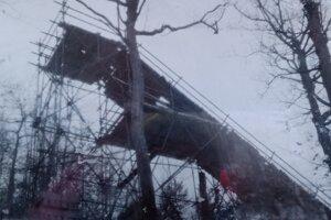 Takto vyzeral mostík v roku 1959.