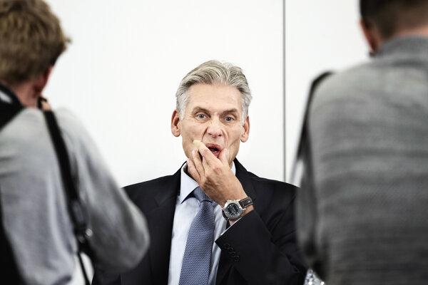 Danske Bank je v centre najväčšieho škandálu s praním špinavých peňazí v Európe, na snímke jej bývalý šéf Thomas Borgen, ktorý po zverejnení informácií rezignoval.