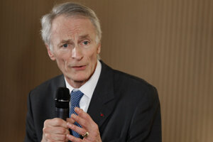 Prezident aliancie Renault - Nissan Jean-Dominique Senard.